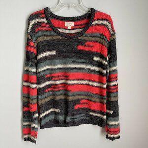 Anthropologie Numph Multicolor Gerda Fuzzy Sweater